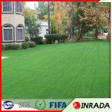 Tapete plástico bem parecido da grama de Inrada para o estádio de futebol