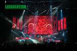 LED Curtain Display per Stage