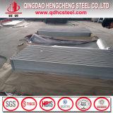 Tôle d'acier ondulée en aluminium laminée à froid de zinc