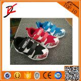 Chaussures du sport du gosse confortable des chaussures des enfants colorés neufs d'étoile pour des garçons et des filles