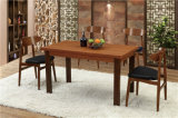 Canton Fair (FOH-BCA67)のための長方形のSolid Wood Dining Table