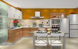 Melhor Venda armário de cozinha de MDF com superfície de UV (ZX-026)