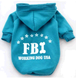 Vêtements d'animal familier, Fbi Hoodie, produit d'animal familier