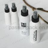 Garrafa de spray de alumínio cosmético com bomba de pulverizador de plástico preto (PPC-ACB-051)