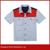 بالجملة نمو تصميم رخيصة قطر بوليستر عمل لباس صاحب مصنع ([و115])