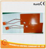 Silicone Aquecedor de impressora 3D 500 * 600 * 1.5mm 110V 1000W com termostato