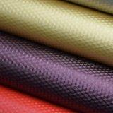 Kristalloberfläche PU-Leder für Beutel, dekoratives Leder