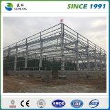 Precio material de acero de la estructura para el edificio del taller del almacén