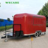 中国の走行の電気移動式ホットドッグヴァン