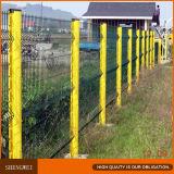 Kurbelgehäuse-Belüftung beschichtete V gepressten geschweißten Maschendraht-Zaun