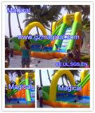 Glissière d'eau gonflable géante commerciale avec piscine pour enfants et adultes (MIC-546)