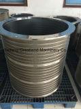 2M2 sur le fil de l'écran de filtre en coin du vérin pour équipement de fabrication de pâte