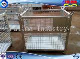 Gaxeta de armazenamento de malha de arame empilhável para armazém / local de construção (SC-002)