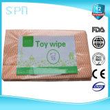 Wipes non tessuti di pulizia della famiglia non tessuta a perdere del Dishcloth