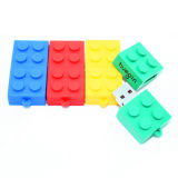 USB Flash Drive USB Stick USB Pendrives OEM Logo Building Block Memory Stick Toy Brick flash Card USB Flash Disk USB 2.0 Thumb