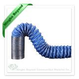 Condotto flessibile galvanizzato su durevole del PVC del filo di acciaio