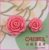 Tasto personalizzato della decorazione del fiore della Rosa