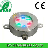 6W RGB LED Underwater Swimming Pool Light mit Edelstahl, IP68