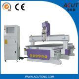 Máquina 2017 de madeira do CNC do único eixo de China Acut 1325 com 6.0kw