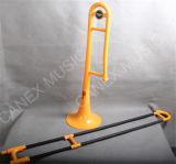 Trombone en plastique de Trombone/junior de Trombone/d'instruments musicaux (PTR-1)