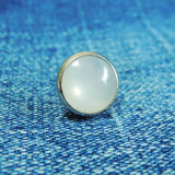 10mm Pearlized Snap Button для Decoration