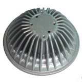 Peça de liga de alumínio usinada para base de filtro (ADC-03)