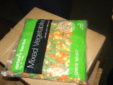 Légumes mélangés gelés avec le broccoli de chou-fleur de raccord en caoutchouc