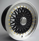 15 의 16 인치 BBS 디자인 합금 바퀴 알루미늄 변죽
