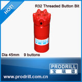 Hard Rock Drilling Bits/broca de rosca de Corte