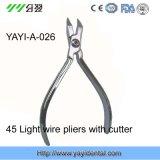 Ortodoncia Alicates-45 ° Luz alambre alicates con el cortador (YAYI-026)