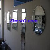 カスタム大きく装飾的な組み立てられたまたはFramelessの浴室の壁ミラー(円形か楕円形または長方形または正方形)