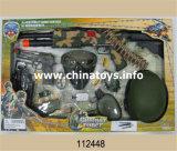 Полиции дают полный газ установленной игрушке инструмента, полиции дают полный газ установленным установленным действующим войска (112451)