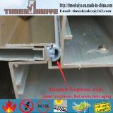 De FOB- Deur van de Badkamers van het Frame van het Aluminium Foshan met het Dubbele Ontwerp van het Glas