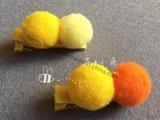 球の形の方法ヘアークリップ、第17012