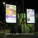 Коробка станции газолина средств напольная СИД рекламы печатание знамени Поляк улицы светлая