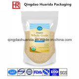 Sac en plastique emballé en plastique à fermeture à glissière pour quinoa