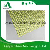 Beste Verkoop 8X8mm het Gele Netwerk van de Glasvezel van de Kleur 210G/M2 alkali-Bestand