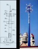 Tour unipolaire de transmission simple de tube de qualité