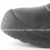 De industriële Werkende Schoenen Snb1261 van de Veiligheid van de Teen PU/Leather van het Staal