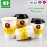 Biodegradable100% recycleren de Duidelijke Vriendschappelijke Kop van het Document Eco-