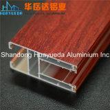 Profils en aluminium de peinture en bois des graines pour le guichet et la porte de glissement en verre