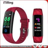 Cadeau Mode Fitness Sport Smart Watch /Bracelet Bracelet /Téléphone mobile avec moniteur de sommeil, imperméable, la technologie Bluetooth pour les hommes et dames.