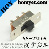 Interruptor de deslize / alternador DIP de 3 pinos de alta qualidade (SS-22L05)