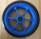 외바퀴 손수레 트롤리를 위한 7 인치 PU 거품 바퀴