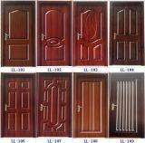 メラミン/Naturalのベニヤはドアのためのドアの皮に直面した