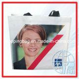 De PP Tecidos de sacos de compras (ENV-SVP099)