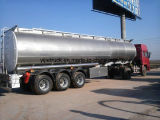 Neuer Tanker-halb Schlussteil des Kraftstoff-2017 Aluminium45m3