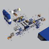 大きい容量の具体的な煉瓦機械生産ライン
