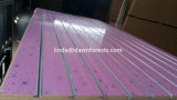 11 rainures face fente PVC MDF avec l'aluminium