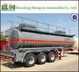 De semi Tanker van de Aanhangwagen voor Benzine, de Aanhangwagen Shengrun van de Tank van het Zwavelzuur